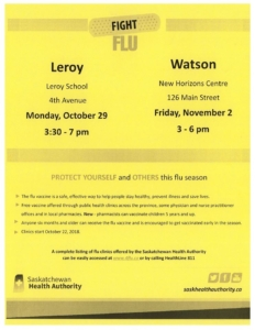 FLU CLINIC @ LeRoy School | New York | United States