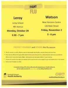 FLU CLINIC @ LeRoy School | New York | United States