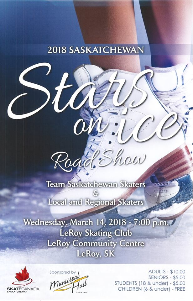 Stars on Ice Road Show @ LeRoy Community Centre